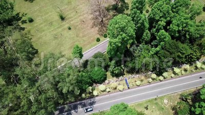 Aerial view See in seremban Malaysia stock footage