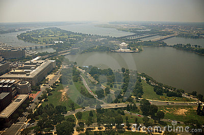 Aerial View from Washington Monument