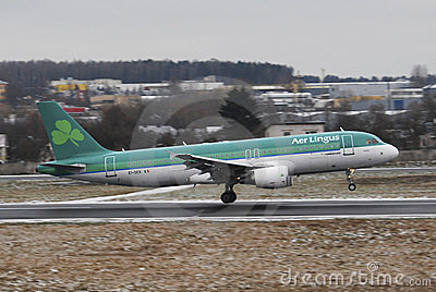 AerLingus Editorial Image