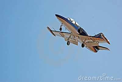 Aero L-39C Albatros ZU-TEE Aerobatics Team Editorial Photography