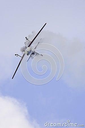 Aerobatic airplane