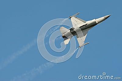 Aerobatic F-16 Editorial Photo