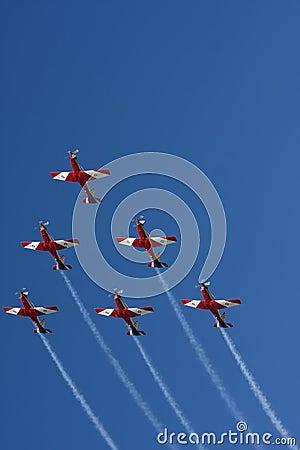Aerobatic Formation