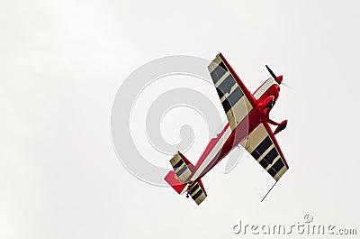 Aerobatic Show by Les Z. Vorosmarthy