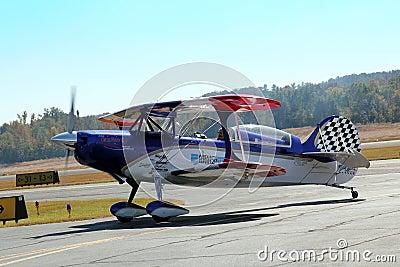 Aerobatic Stunt Plane Editorial Image