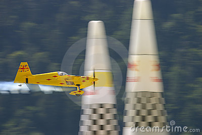 Aerobatics airplane racing