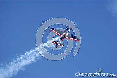 Aerobatics plane