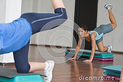 Aerobics action