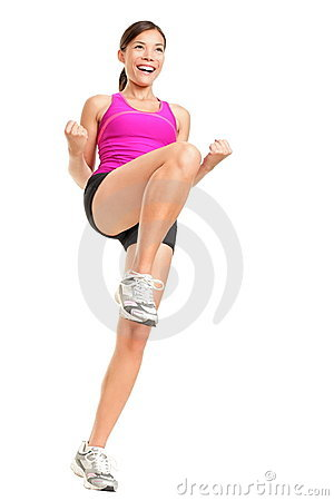 Free Aerobics Fitness Woman Stock Images - 20902424