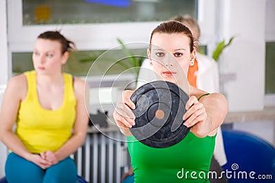 Aerobics women