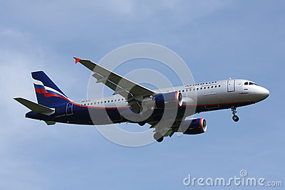 A320 Aeroflot Editorial Photo