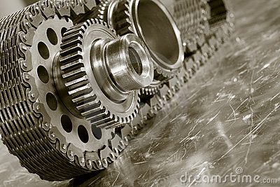 Aerospace gears and timing chain