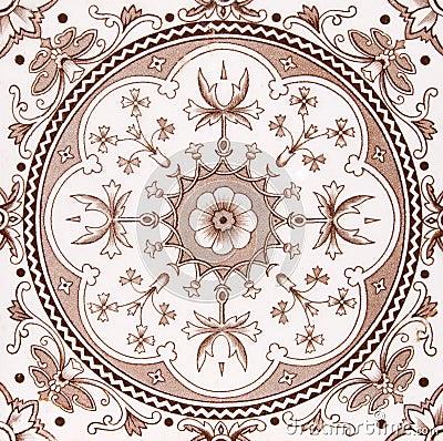 Aesthetic antique tile