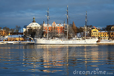 The af Chapman Ship in Stockholm
