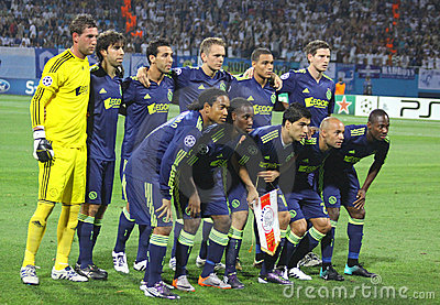 AFC Ajax team pose for a group photo Editorial Photography