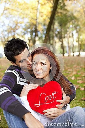 Afekci pary miłości potomstwa