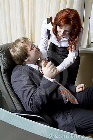having office sex