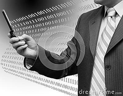 Réussite d affaires de technologie téléphone sans fil