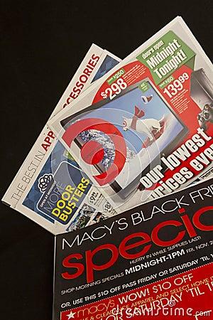 Affari neri di venerdì Immagine Stock Editoriale