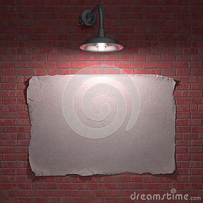 Affiche de lampe