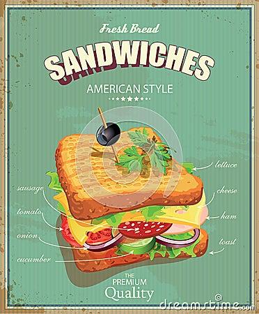 Affiche cuisine vintage chicago affiche vintage bar for Affiche cuisine retro
