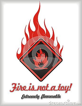De noodsituatie van de brand