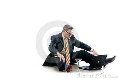 Affären kontrollerar e-post hans manworkaholic