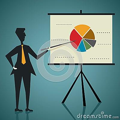 Affärsmanpresentation