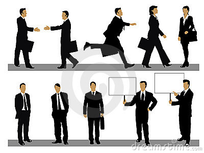 Affärssamlingsfolk