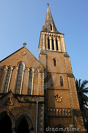 Afgański kościelny zewnętrzny mumbai