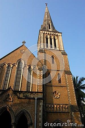 Afghaanse kerkbuitenkant, Mumbai