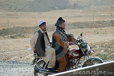 Afghan Men Editorial Photography