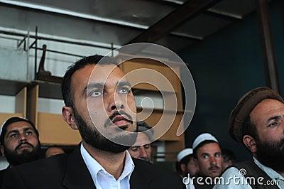 Afghan men Editorial Stock Photo