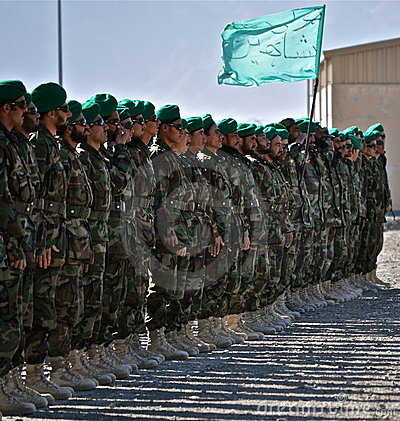 Military Boot Camp on Afghan National Army Boot Camp Graduation Stock Images   Image
