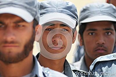 Afghan policemen 2 Editorial Image
