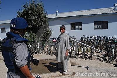 In Afghan village Editorial Image