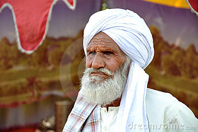 Afghani old man Editorial Photography