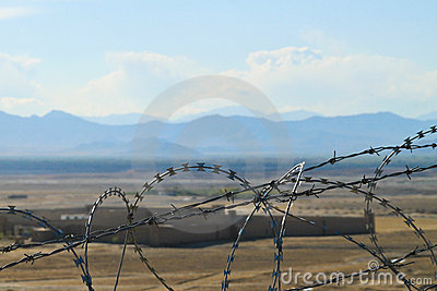 Afghanistan - Country behind the fence