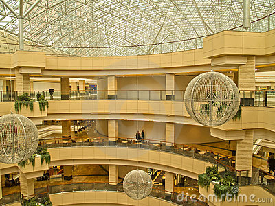 AFI Mall, Moscow, Russia, april 21, 2011 Editorial Image