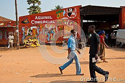 Afican market Editorial Stock Image