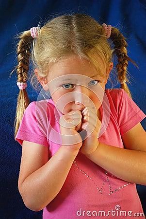 Free Afraid Child Royalty Free Stock Images - 6787959