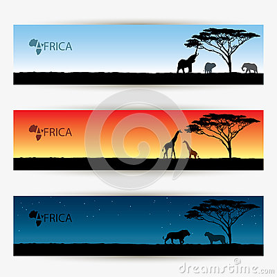 Africa banners