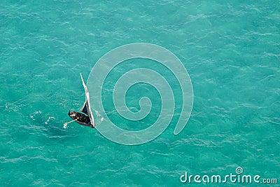 Africa fartygmozambique sydligt vatten