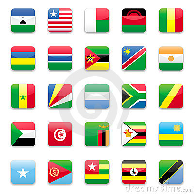 Africa flag b