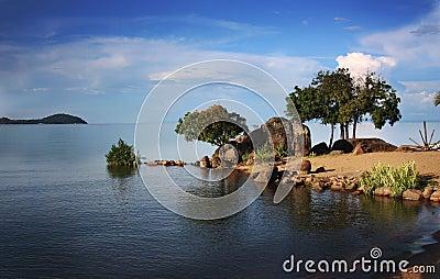 Africa jezioro Malawi