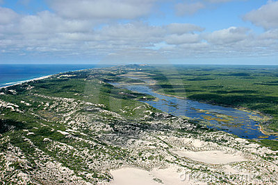 Africa kustmozambique sydligt tropiskt