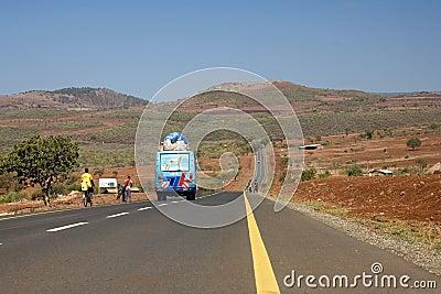 Africa landscape 009 road