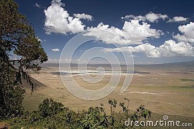 Africa landscape 010 ngorongoro