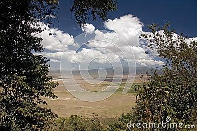 Africa landscape 012 ngorongoro