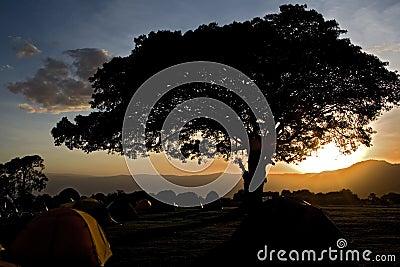 Africa landscape 033 ngorongoro